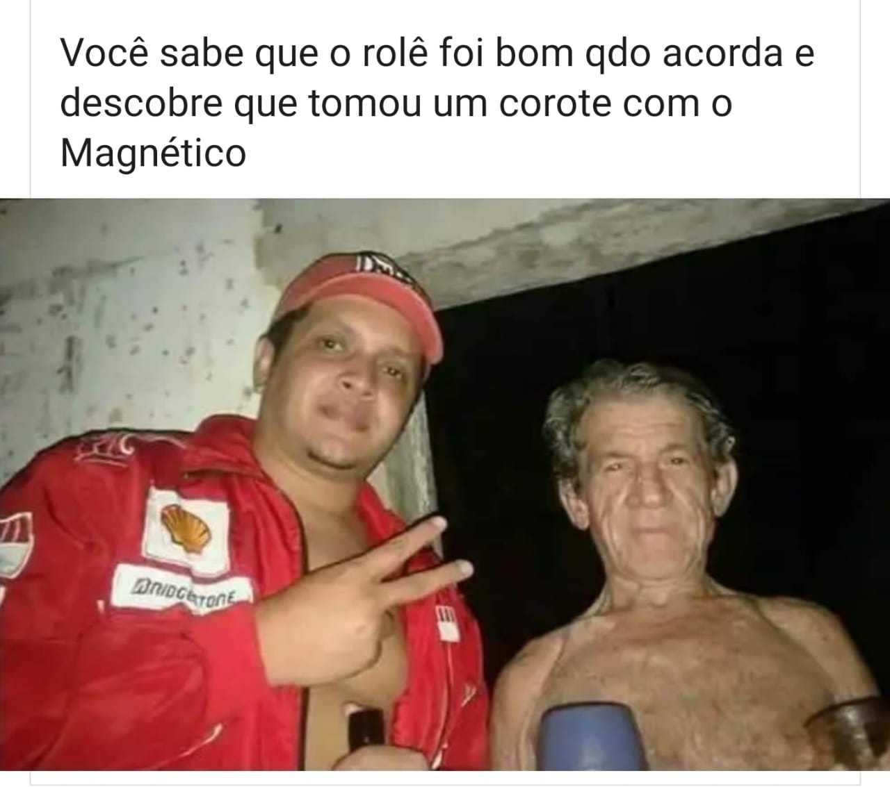 Magnético - meme