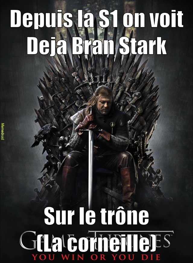 a gauche de Ned - meme