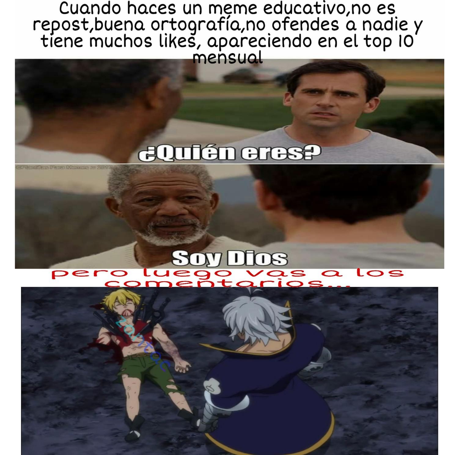 Toc toc! - meme