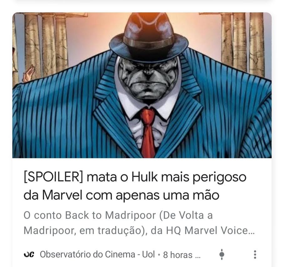 Mataram o Hulk Agiota ;-;-; - meme