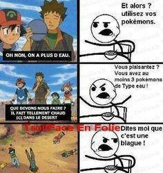 la logique de pokemon - meme
