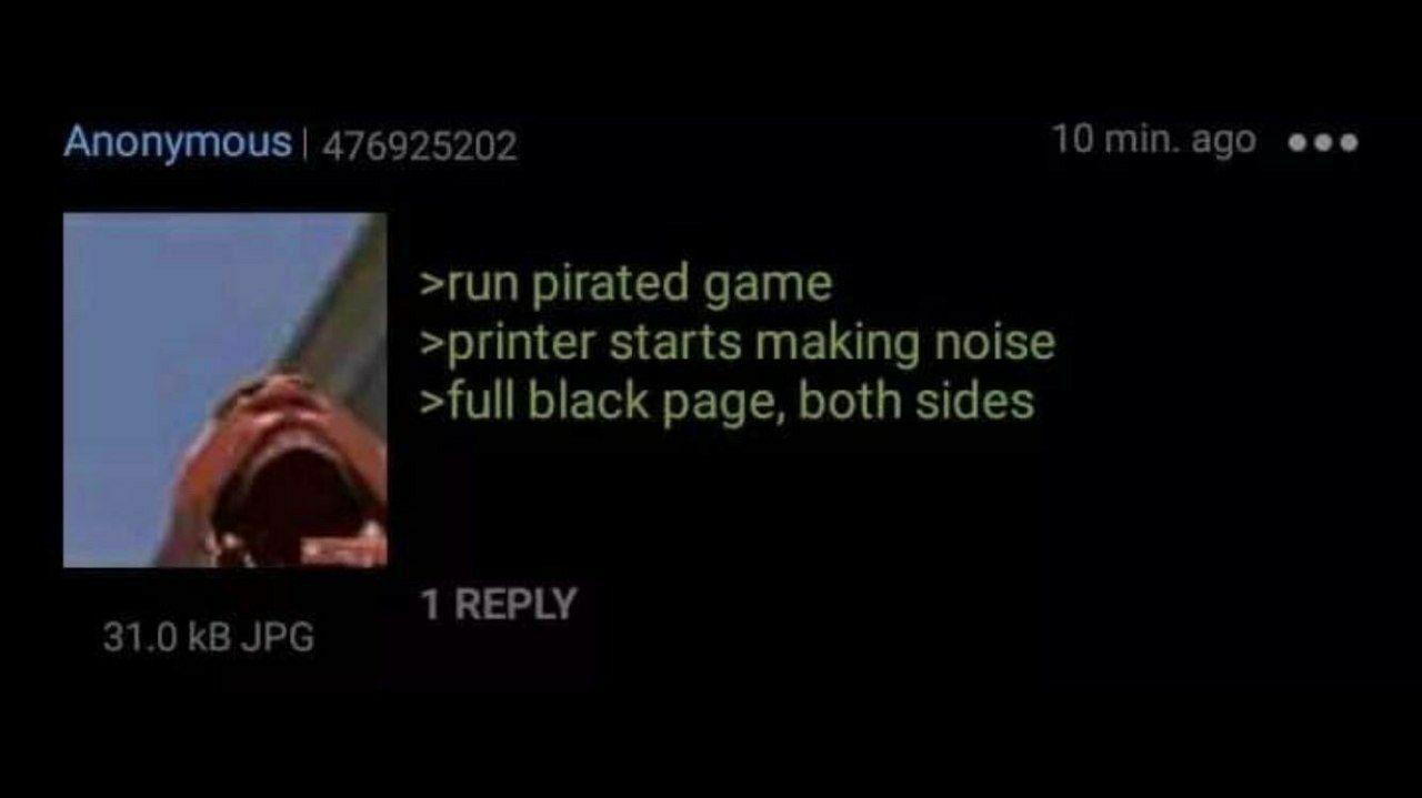 PRINTER STOP - meme