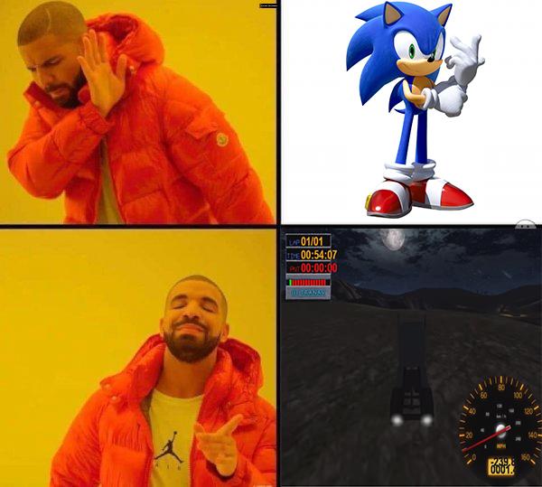 Cual es más rápido? - meme