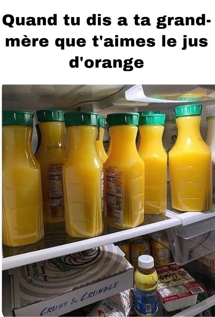 jus d'orange comme les hamsters - meme