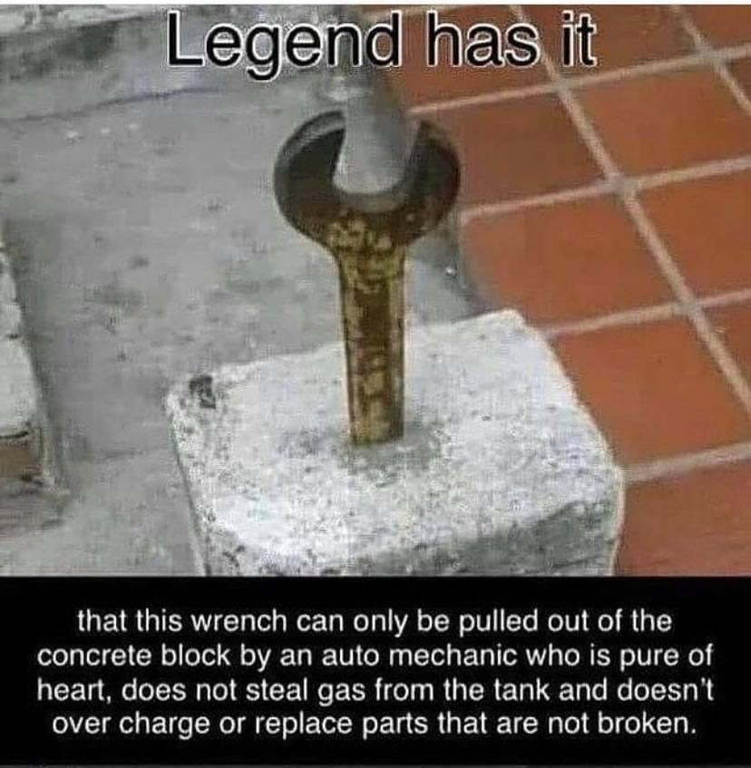 Sir wrenchalot - meme