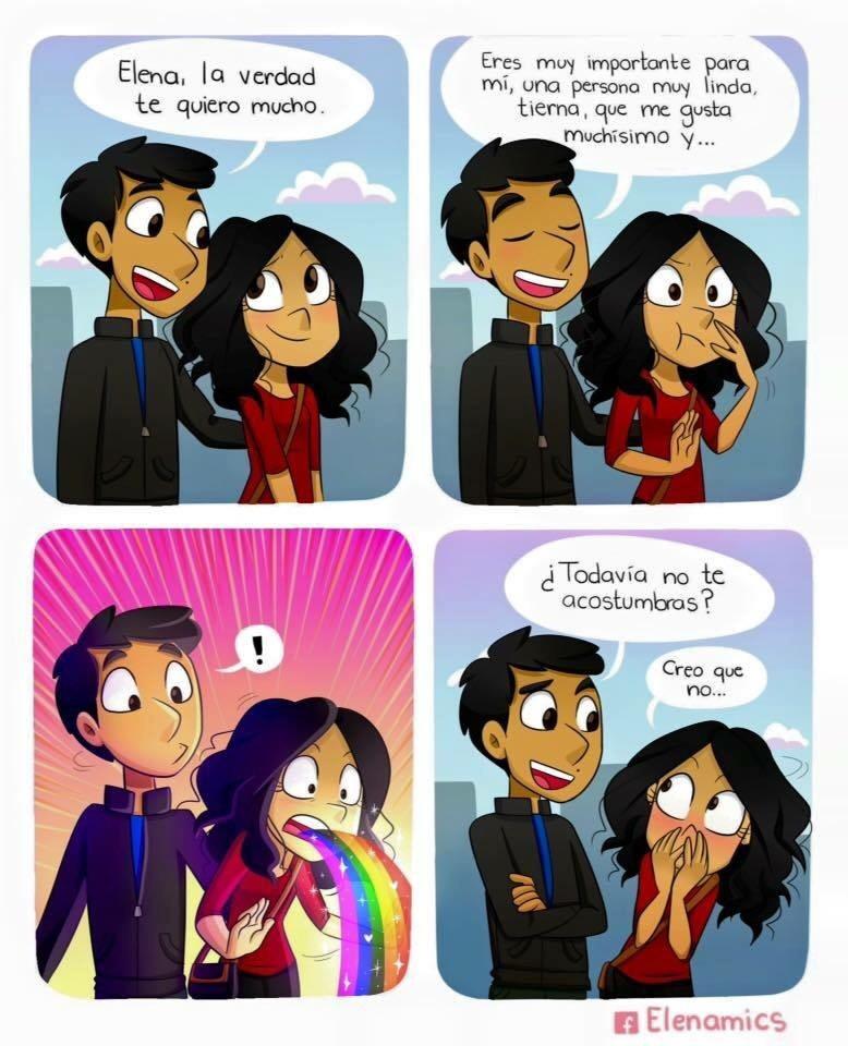 puke rainbows c: - meme