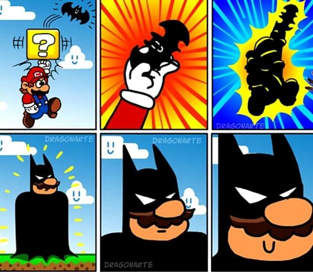 Super batman wiiiiii - meme