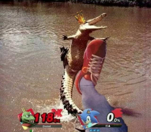 King K Rool mains be like - meme
