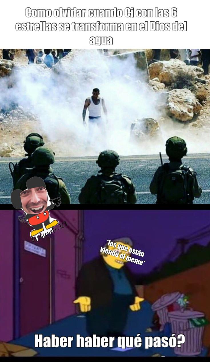 Admirad mi nueva marca de agua - meme