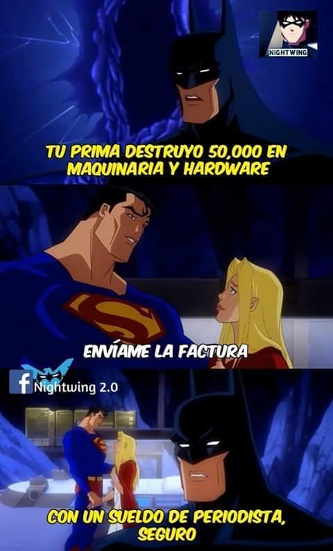 El Superman norteño - meme