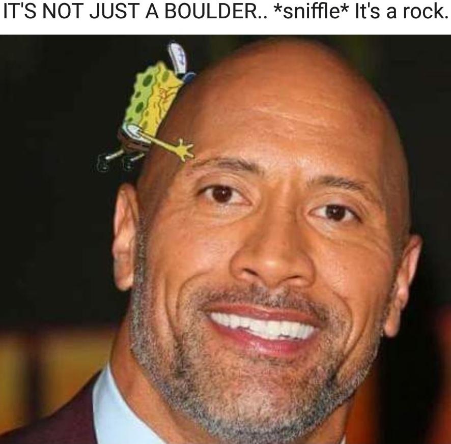 Dwayne boulderson - meme
