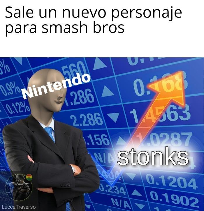El titulo se fue a jugar Mario peleas - meme