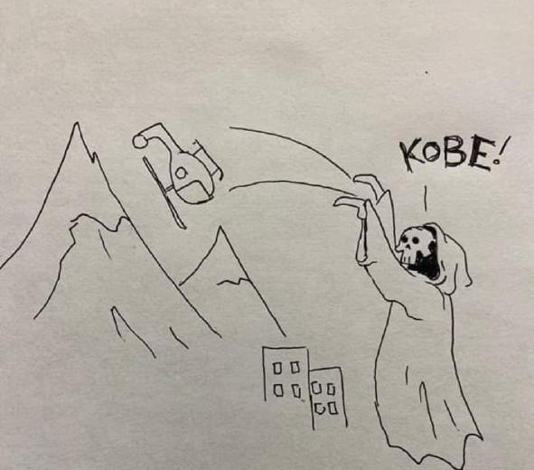 RIP Kobe - meme