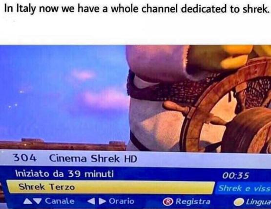 o canal supremo - meme