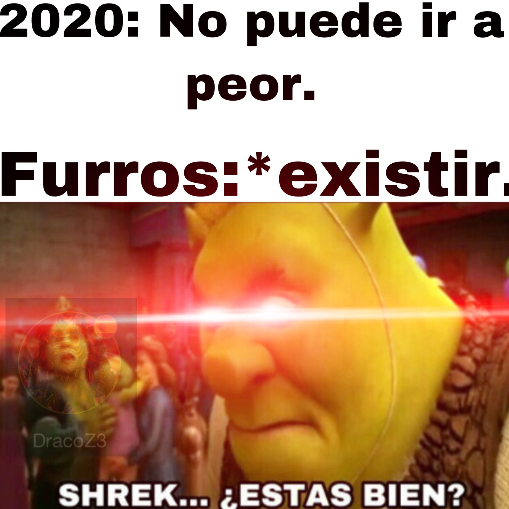 Shrek es la última esperanza... - meme