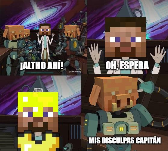 Minecraft lógica - meme