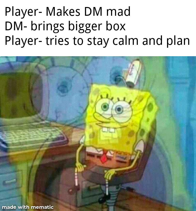 DM Angry god - meme