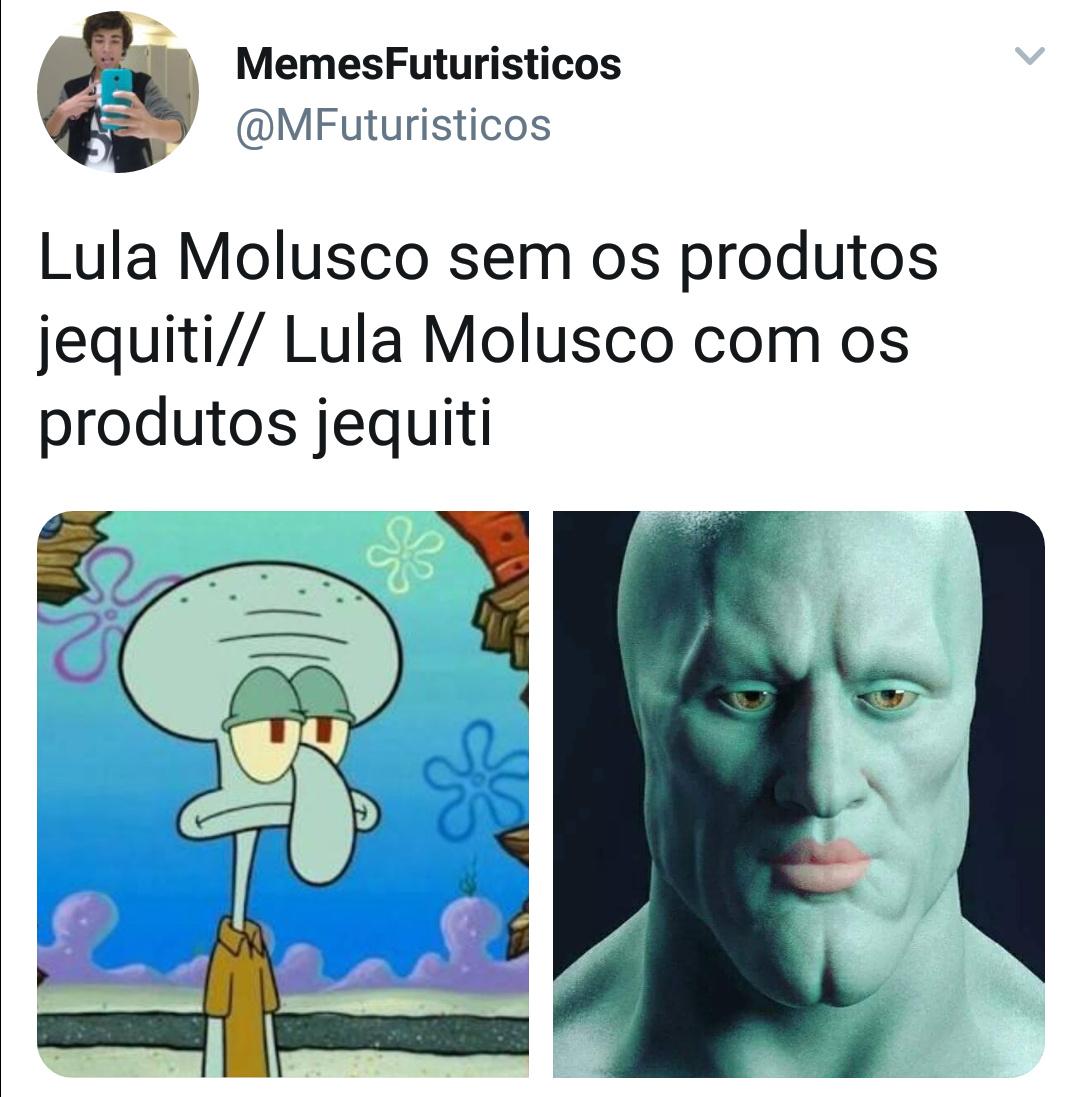 Lula jequiti - meme