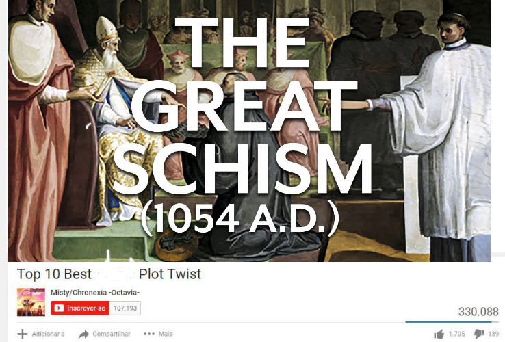 The Great schism - meme