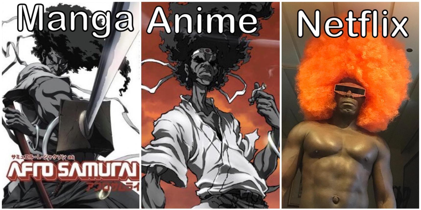 Netflix adaptations - meme