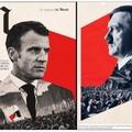 Tou né ke trompri, Macron est un jeune neo-nazi qui chevauche des requins volants
