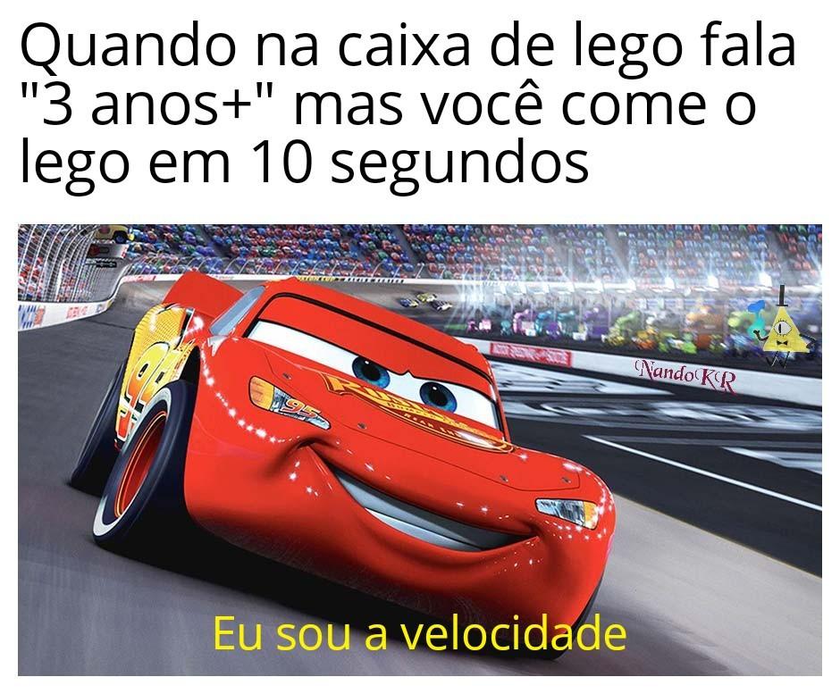 Velocidade - meme