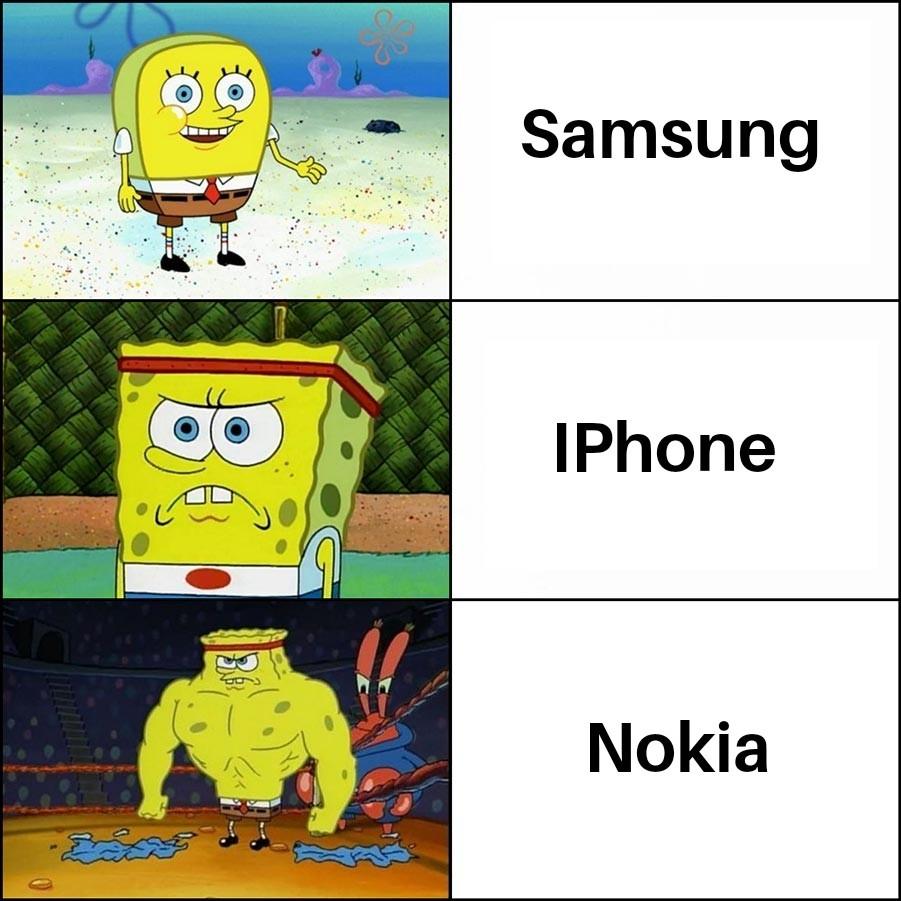 Io ho un Samsung, e voi? - meme