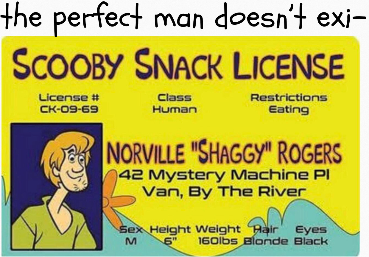 Perfect man - meme