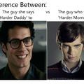 Superman vs Norman Bates