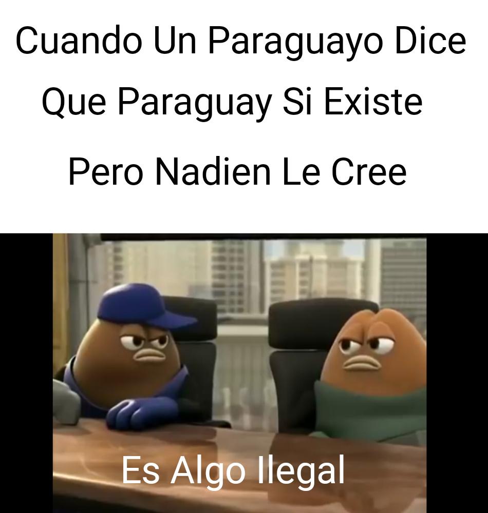 Paraguayo Existira? - meme