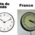 plus informatif que drole : la fr est l'un des seul pays a dire13h, 14h, 15h (je crois)