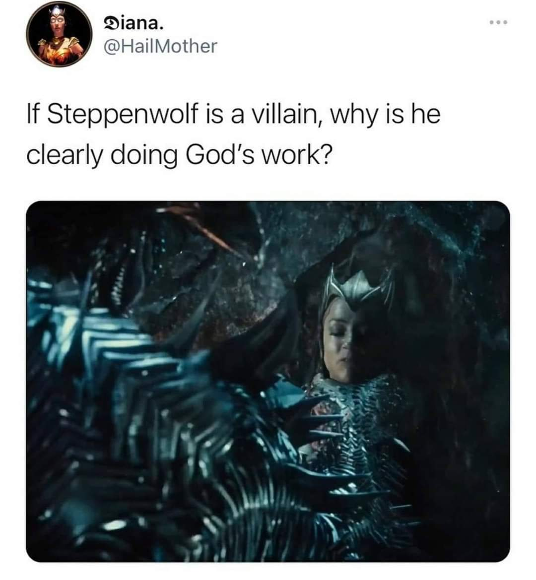 Lord Steppenwolf - meme