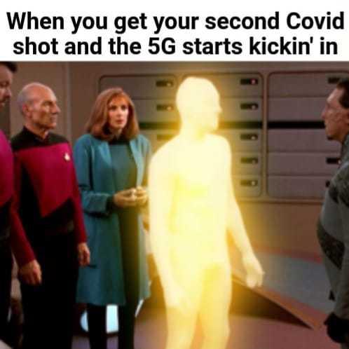 Covid & 5G - meme