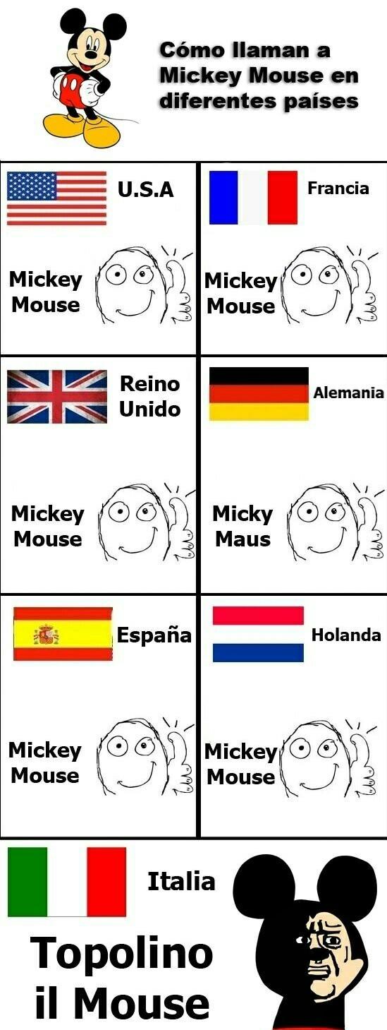Topolino il mouse - meme
