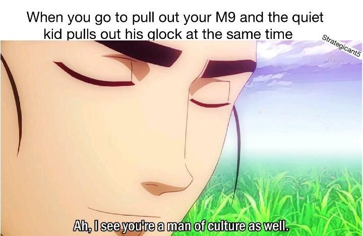 Cultural man - meme