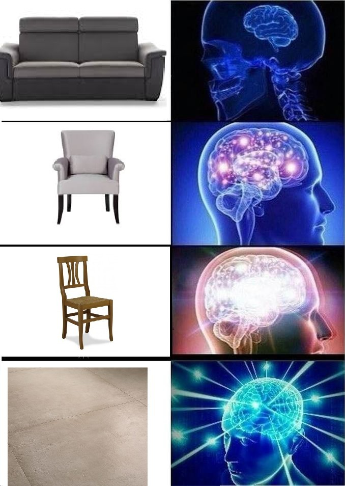 Seduto - meme