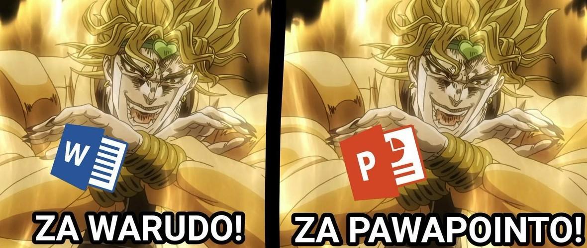 Jojo reference - meme
