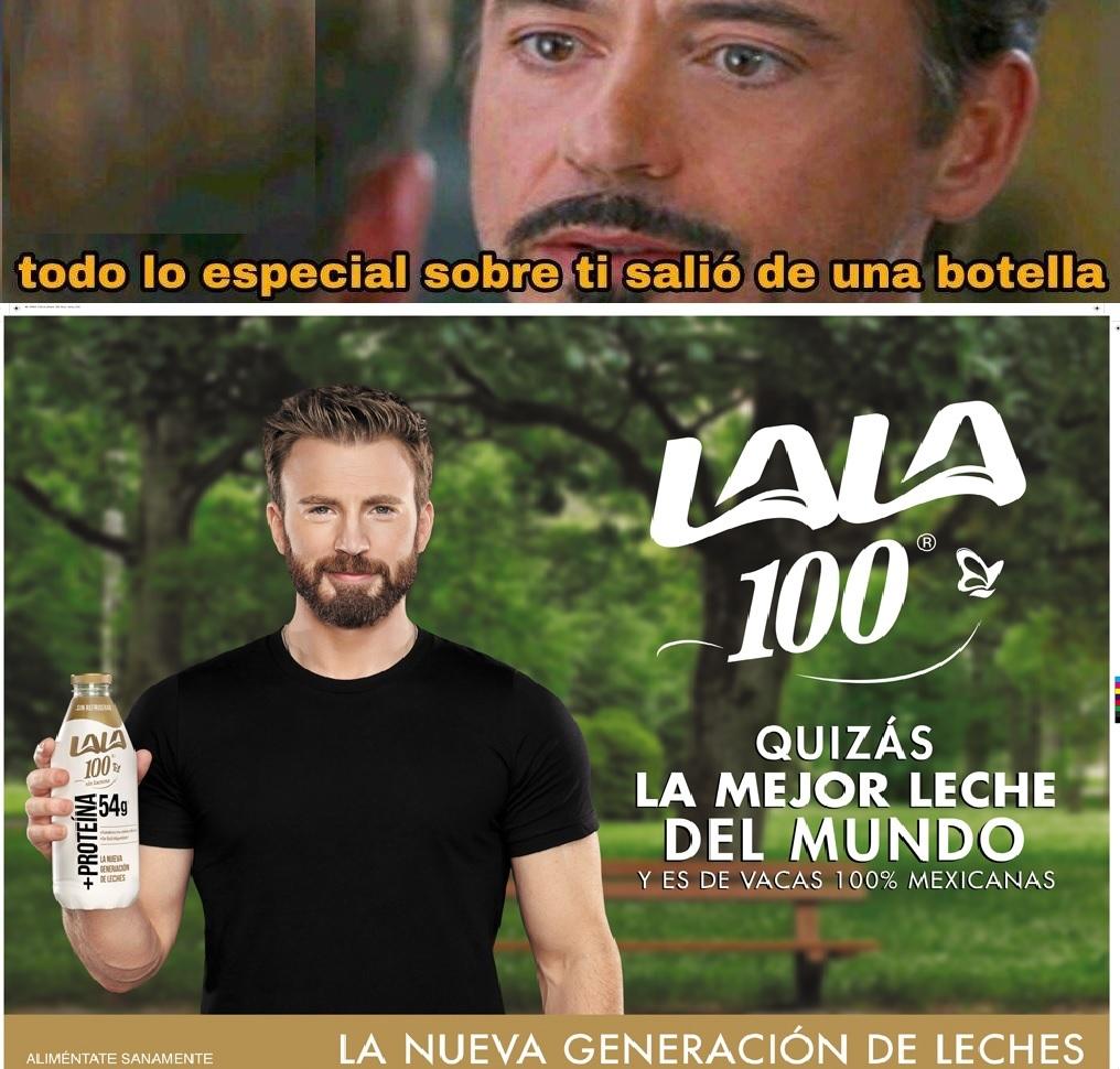 El secreto esta en la leche mexicana - meme