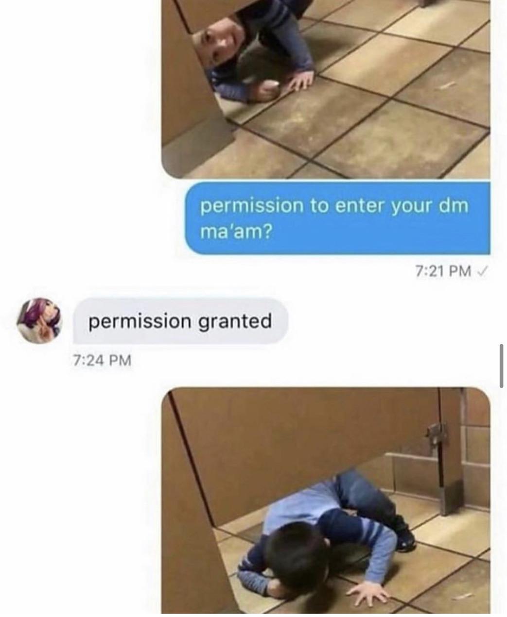 Granted - meme