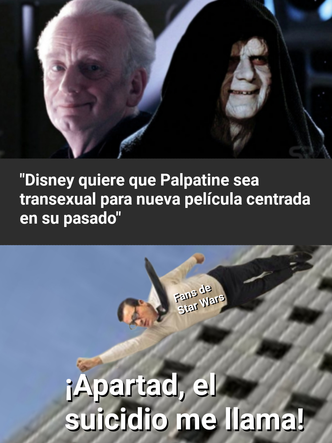 Star wars en manos de Disney... - meme