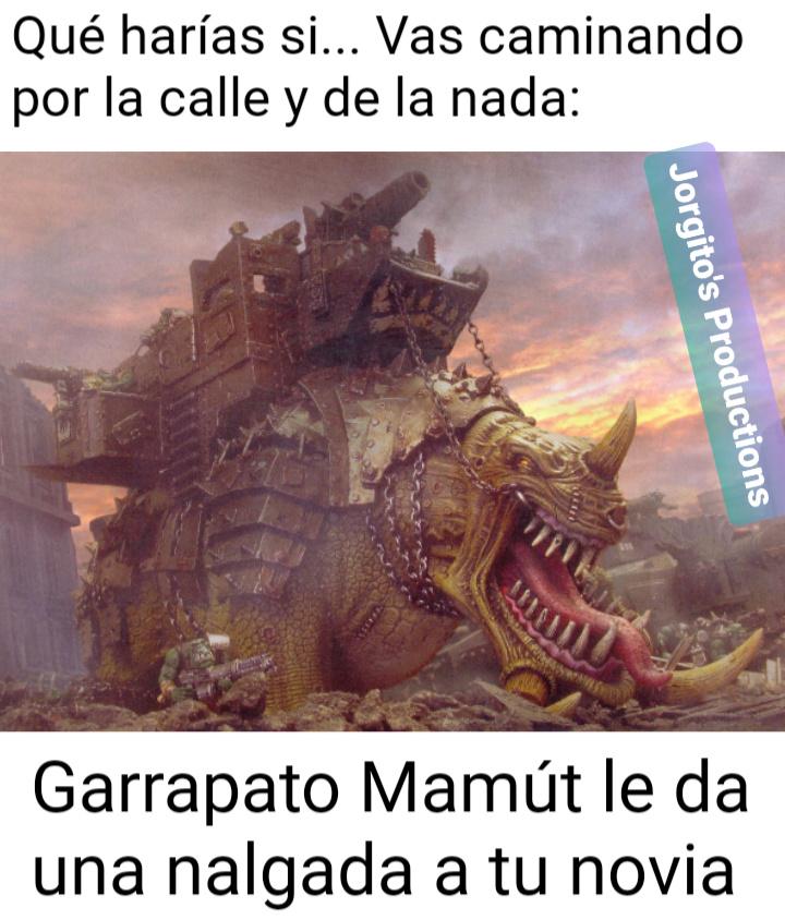 Garrapato Mamút - meme