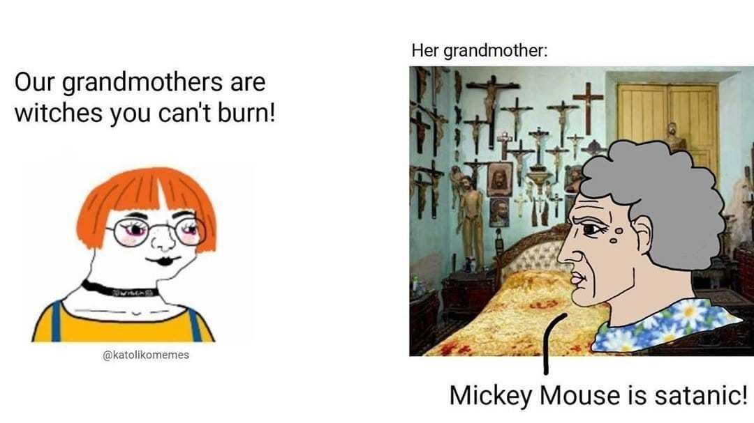 Love u grandma - meme