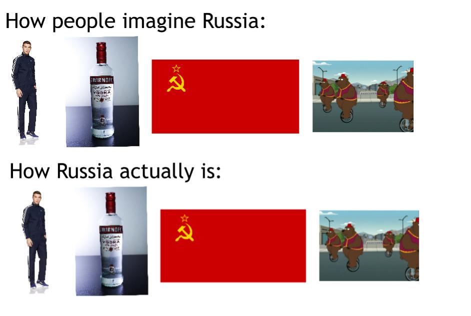 Russia - meme