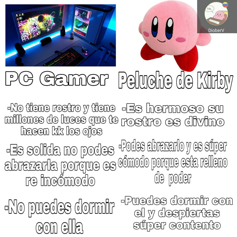 Peluche de Kirby - meme