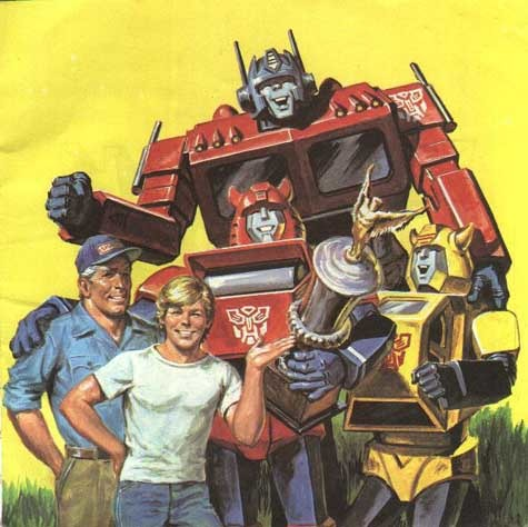 The very first time Optimus Prime was portrayed without a face mask was in a Marvel comic, and this is what he looked like. - meme