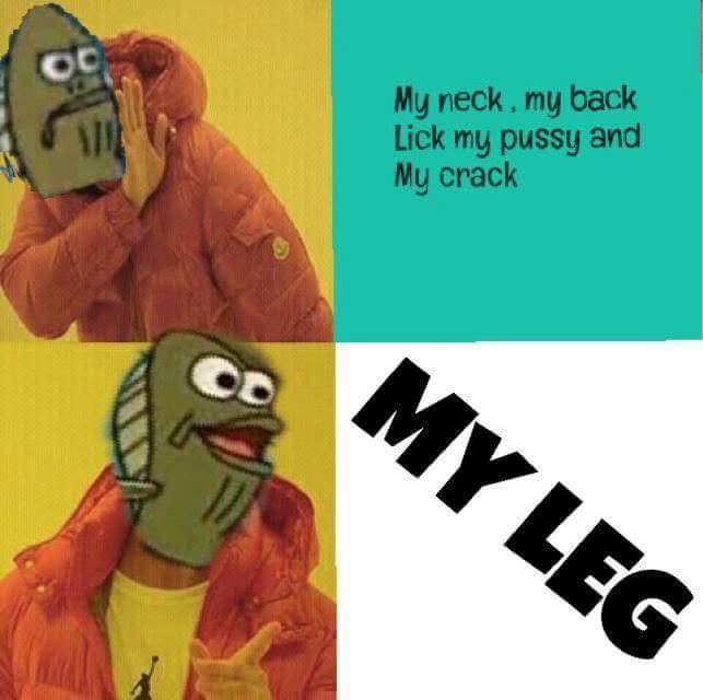 Leg - meme