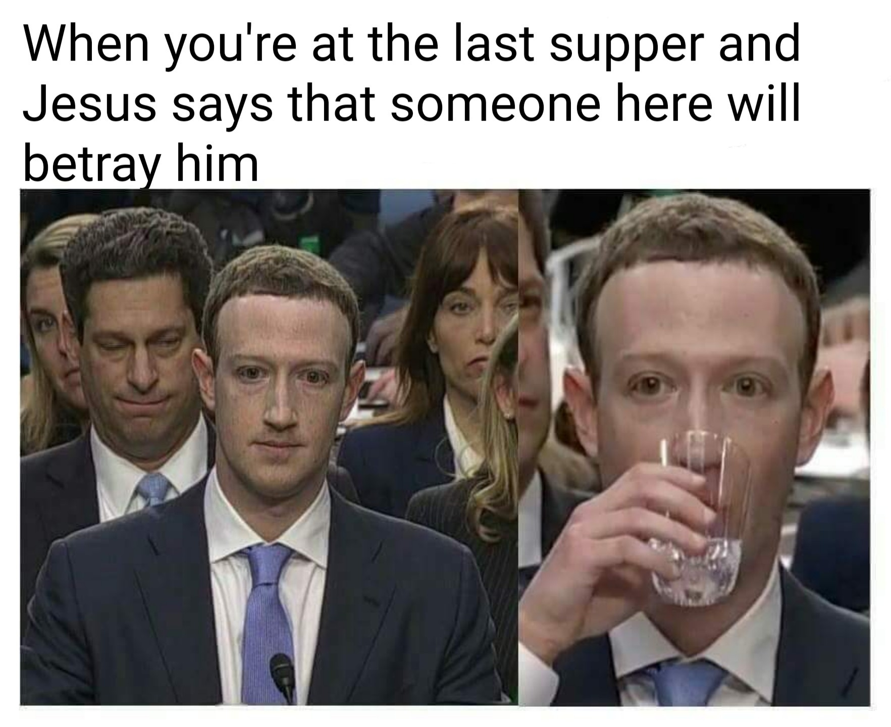 Here comes the zucc - meme