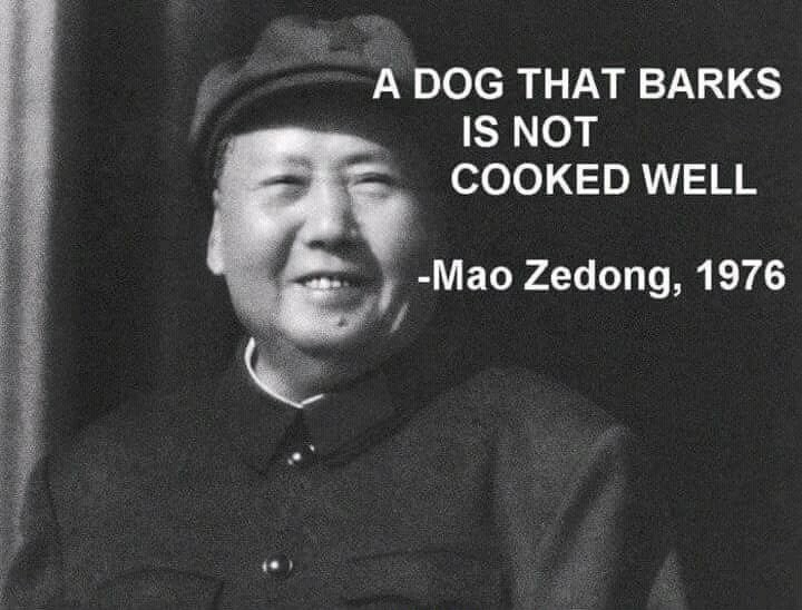 Mao's great words - meme