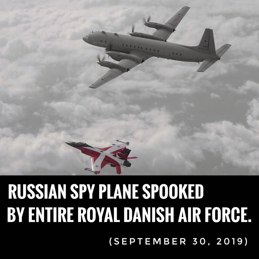Kingdom of Denmark first to spook with superior military power - meme