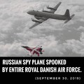 Kingdom of Denmark first to spook with superior military power
